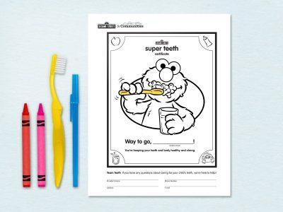 Super Teeth Certificate